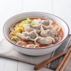 津菜水餃麵