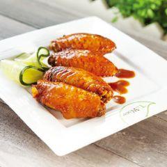 黑麻油雞翅