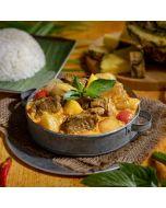 香茅咖喱牛根腩飯套餐